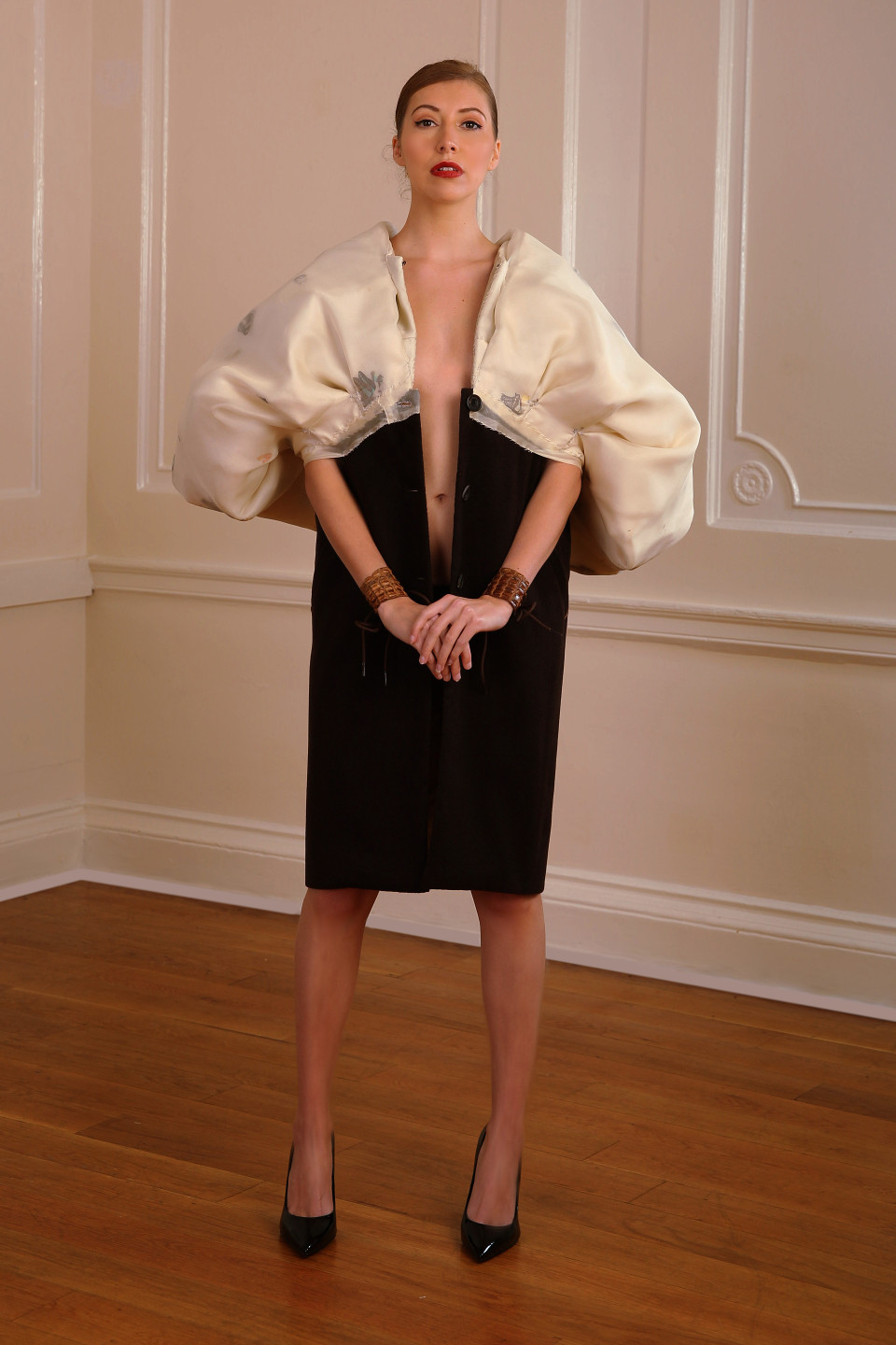 stunning couture coat